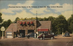 Fairyland Service Station, Rock City - Pettway Oil Co.