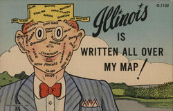 Illinois is Written All Over My Map