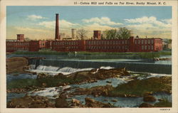 Cotton Mill and Falls on Tar River