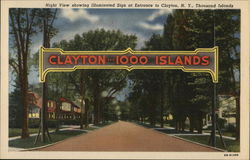 Welcome Sign, Clayton