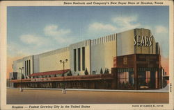 Sears Roebuck and Company's New Super Store at Houston, Texas