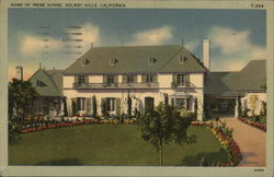 Home of Irene Dunne. Holmby Hills
