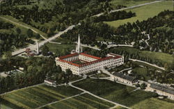 Aeroplane View, Abbey of Gethsemani, (Founded Dec. 20, 1848)