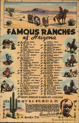 List of Brands of Famous Ranches of Arizona
