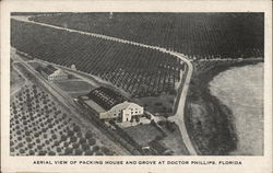 Aerial View of Packing House and Grove at Doctor Phillips