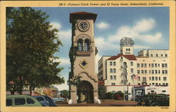 Clock Tower and El Tejon Hotel