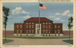 Post Headquarters at Chanute Field