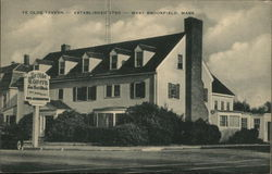 Ye Olde Tavern - Established 1960 Postcard