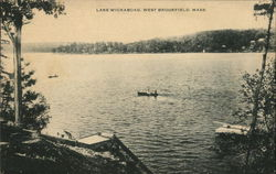 Lake Wickaboag View Postcard