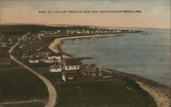 Bird's-Eye View of Cornfield Point and Knollwood