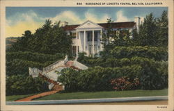 Residence of Loretta Young
