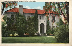 Home of Eddie Cantor Postcard