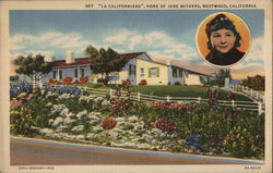 """La Californiana,"" Home of Jane Withers"
