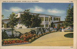 Home of Claudette Colbert, Holmby Hills