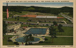 Legion Pool, Civic Auditorium and J. Fred Johnson Park