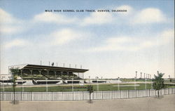 Mile High Kennel Club Track Postcard