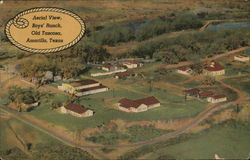 Aerial View, Boys' Ranch, Old Tascosa Postcard