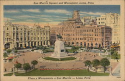 San Martin Square and Monument