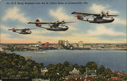 U.S. Navy Bombers over the St. John's River