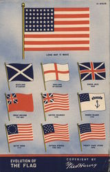 Evolution of the U.S. Flag