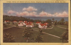 Dunkirk Conference Grounds, Evangelical and Reformed Church Postcard