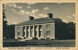Albion College - Stockwell Memorial Library