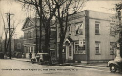 Chronicle Office, Relief Engine Co., Post Office