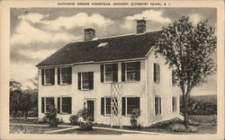 Nathaniel Greene Homestead, Anthony