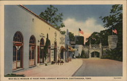 War Relic Museum at Point Park, Lookout Mountain Postcard