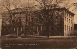 East Hall, R. I. State College