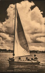 Sailing - Camp Tejas, Houston and Harris County Girl Scouts
