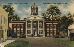 Liberty County Court House Near Camp Stewart