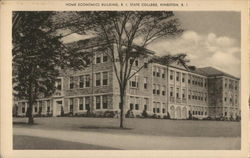 Home Economics Building, Rhode Island State College
