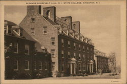 Rhode Island State College - Eleanor Roosevelt Hall