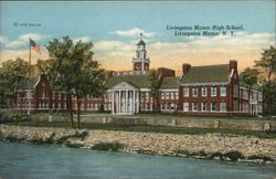 Livingston Manor High School Postcard