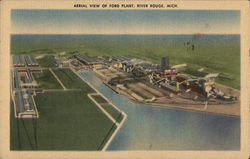 Aerial View of Ford Plant