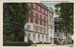 Lindley Hall at Ohio University