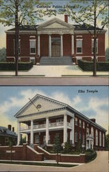 Carnegie Public Library and Elks Temple