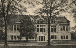 Carnegie Library at Oberlin College Postcard