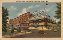 McCleary Clinic and Hospital Postcard