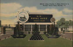 Norfolk Naval Base - Gate Number 2, Main Entrance