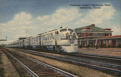 California Zephyr - Burlington Route
