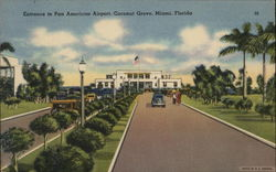 Entrance to Pan American Airport, Coconut Grove