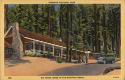 Big Trees Lodge in the Mariposa Grove