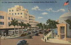 Lincoln Road and Washington Avenue Business Section