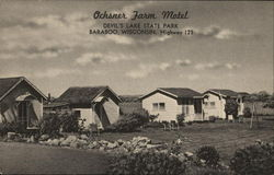 Ochsner Farm Motel Postcard