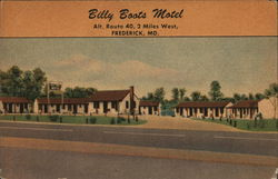 Billy Boots Motel Postcard