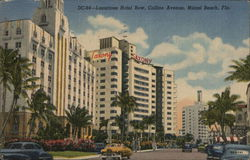 Luxurious Hotel Row - Collins Avenue