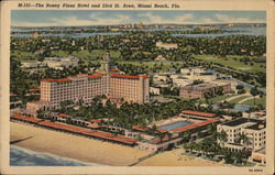 The Roney Plaza Hotel and 23rd St. Area