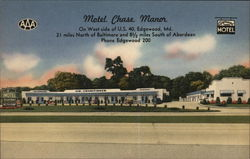 Motel Chase Manor, On West Side of U. S. 40